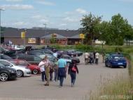 Für fast 500 VWs/Audis musste die Stellfläche verdoppelt werden!