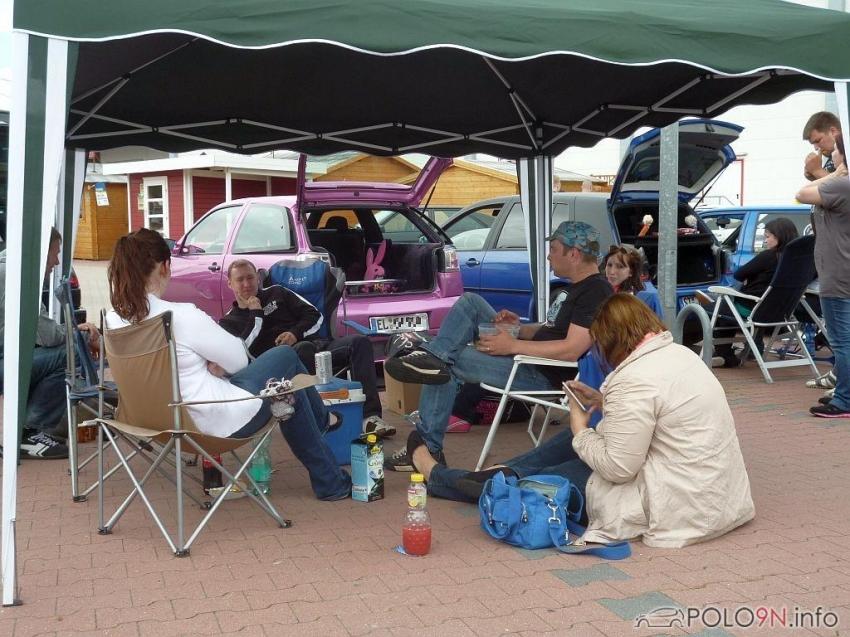 """Die POLO-IG-Ibbenbüren-Crew freut sich schon auf """"Alles POLO"""" Melle 29.09.13"""