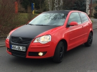 VW Polo 9N3 United - Carwrapping, Folierung schwarz matt
