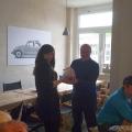 Preisverleihung vom Polo-Gewinnspiel der IG Ibbenbüren