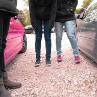 Schöne Schuhe / Schlappen und a süßer Mädchen Polo ;-)