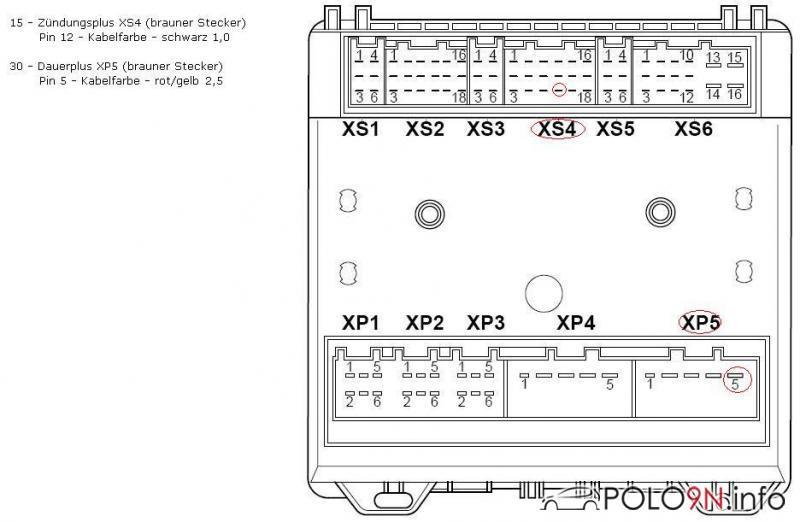 Schaltplan Blinker bzw Blinker Signal - polo9N.info - polo6R.info Forum