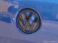 Heckklappenöffner lackiert und VW-Emblem foliert