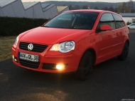 VW Polo 9N3 United - flashrot