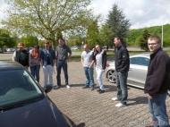 Die Ersten sind auf dem Traditions-Treffenplatz an der Medi-Therme in Bochum eingeflogen.