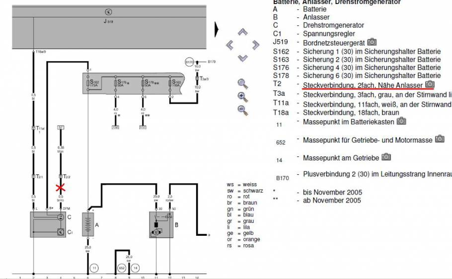 Großzügig Lichtmaschine Schaltplan Ford Fotos - Elektrische ...